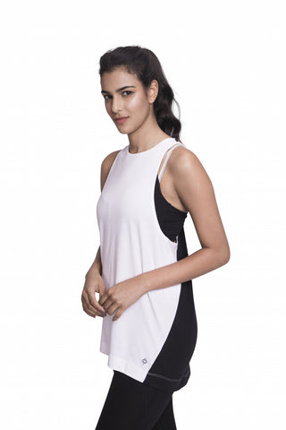 DISCOVERY TANK WHITE/BLACK