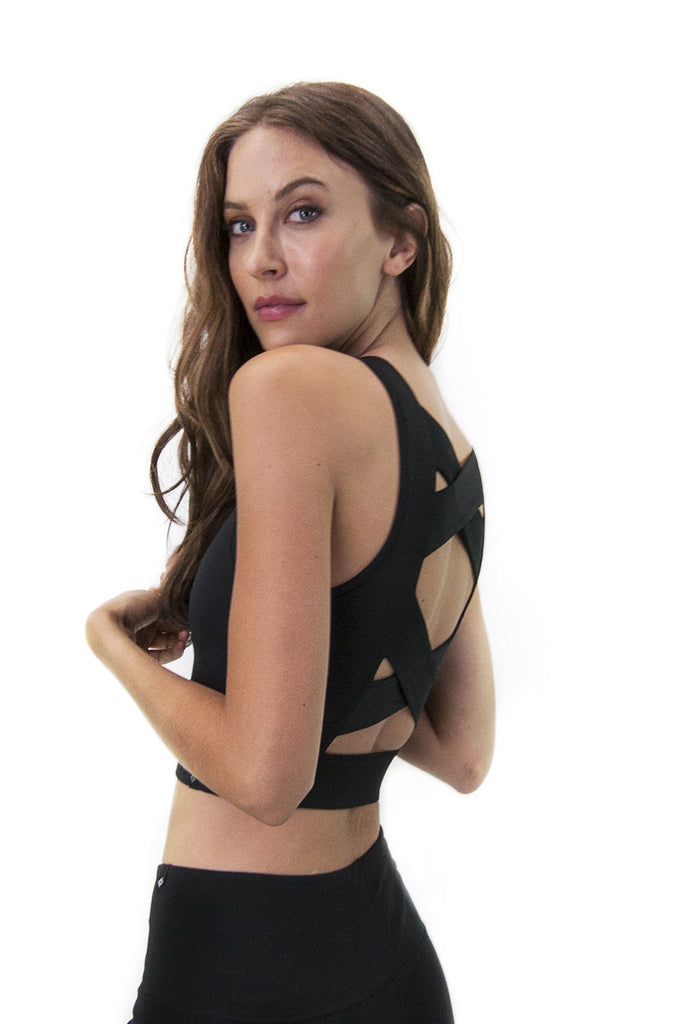 Dara Bralette in Black