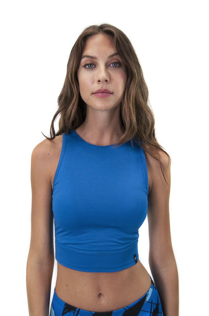 Dara Bralette in Tonal Blue