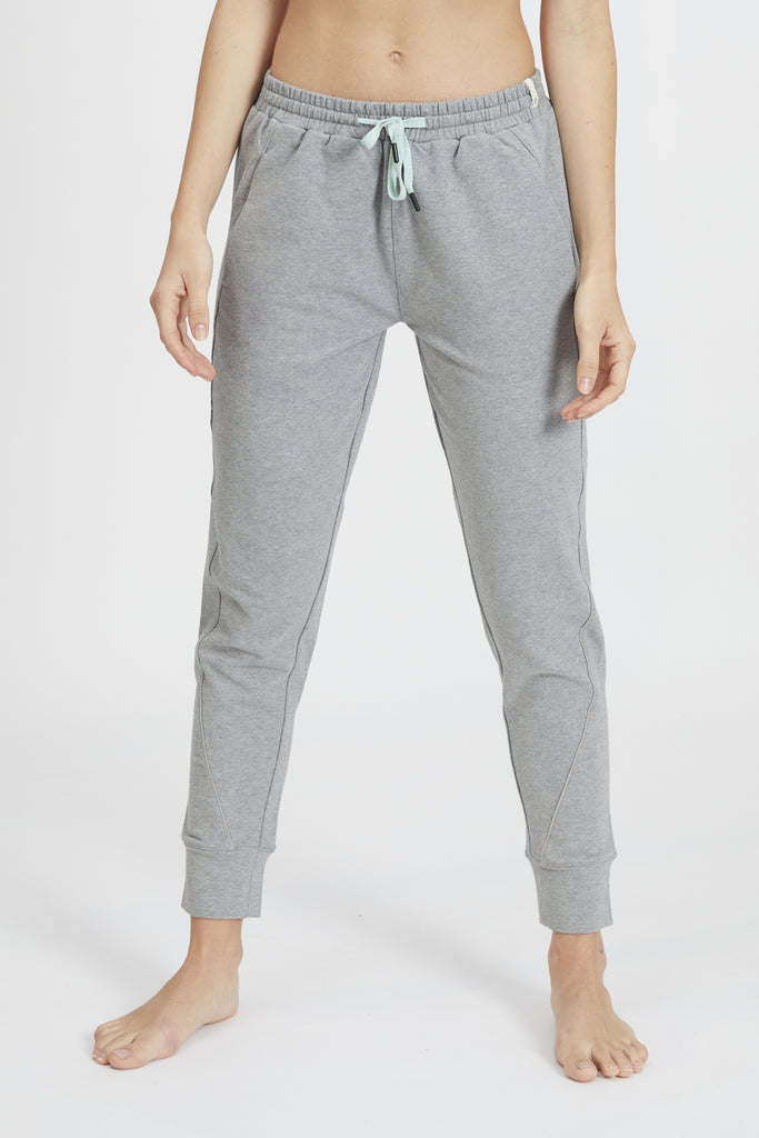 KARA JOGGER HEATHER GREY