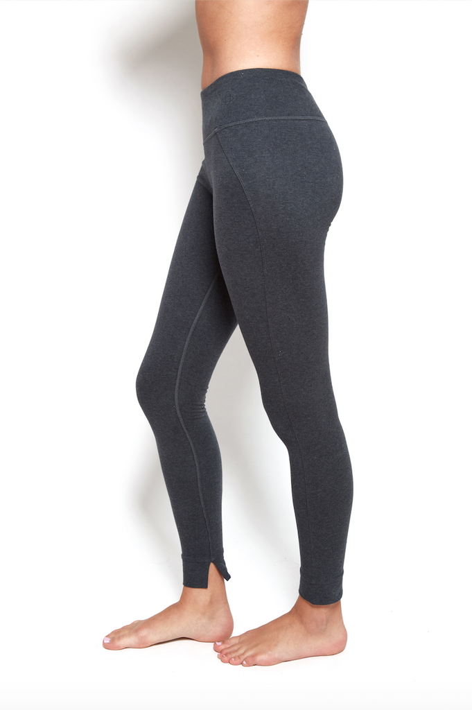 Mantra Legging in Black Heather