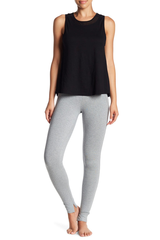 Mantra Legging in Heather Grey