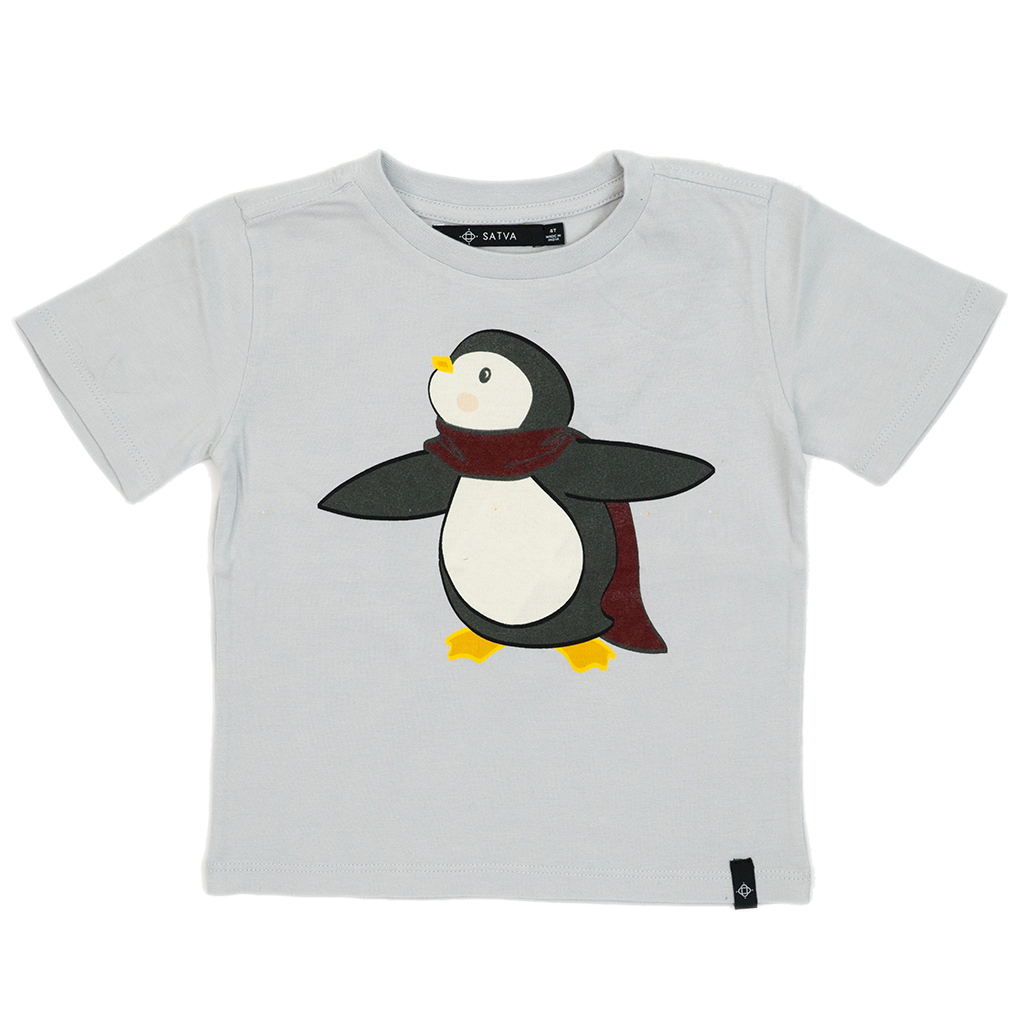 Kids Graphic Tee in Cloud