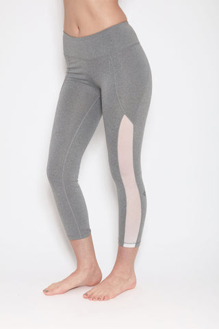 Mudra Capri in Heather Grey
