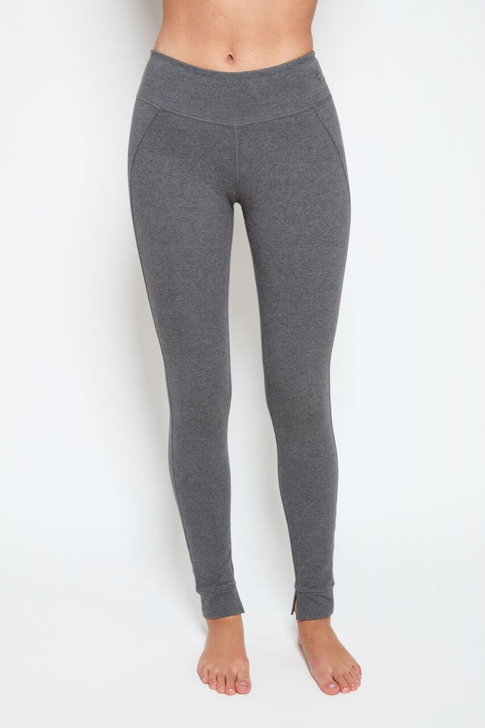 Mantra Legging in Steel Heather