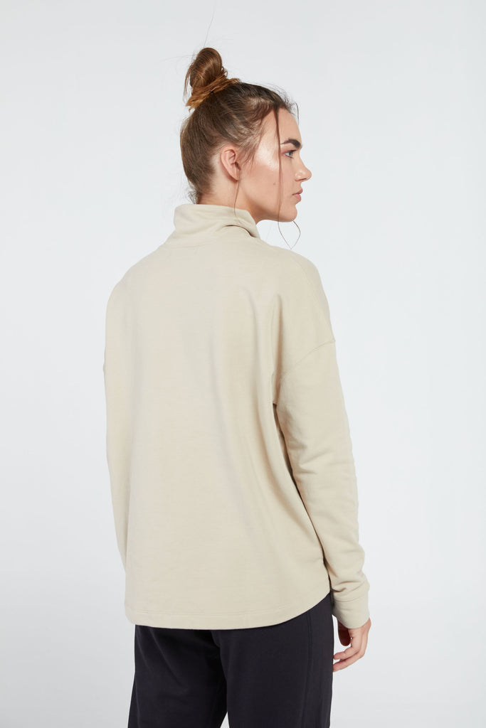PARADISE JUMPER IN STONE WASH