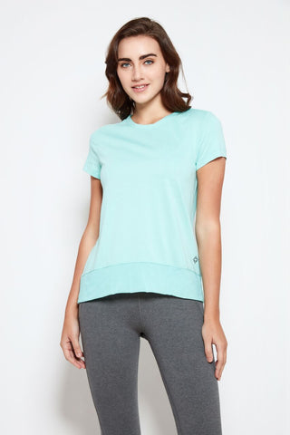 Padma Tee in Mint
