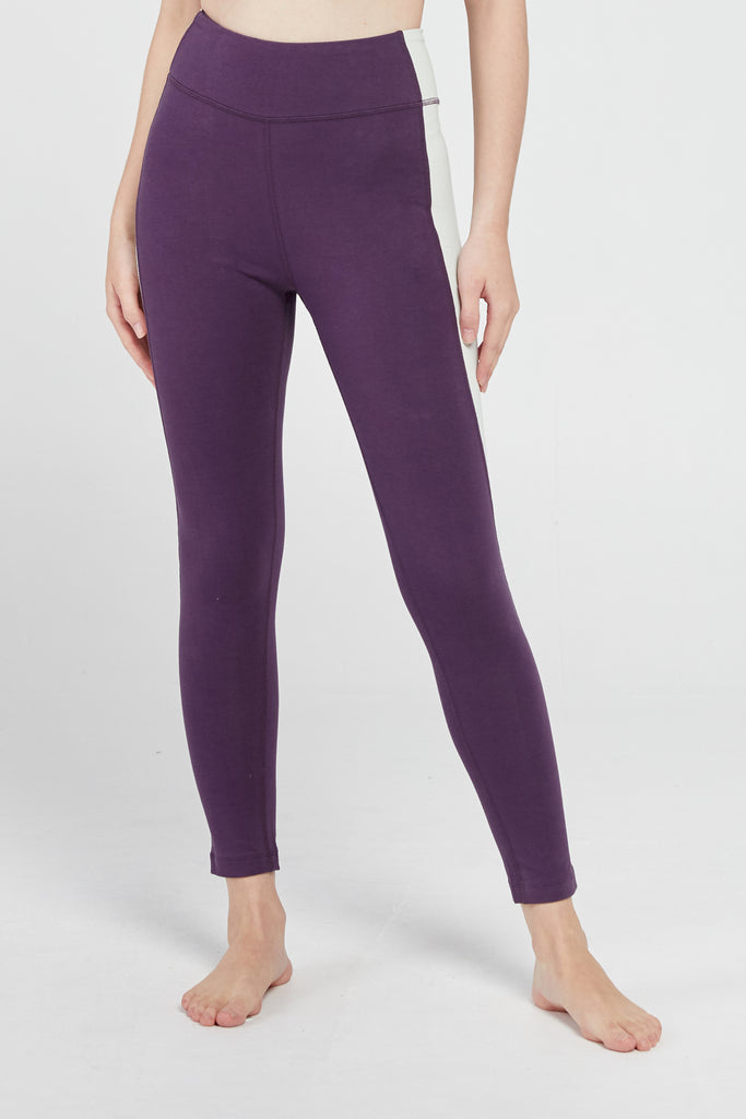 RAVI 7/8 HIGH WAISTED LEGGING IN DEEP SEA