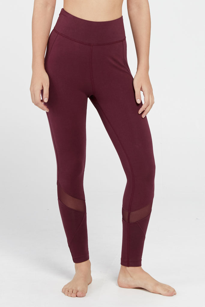 REFLECTION HIGHWAISTED LEGGING IN DAMSON