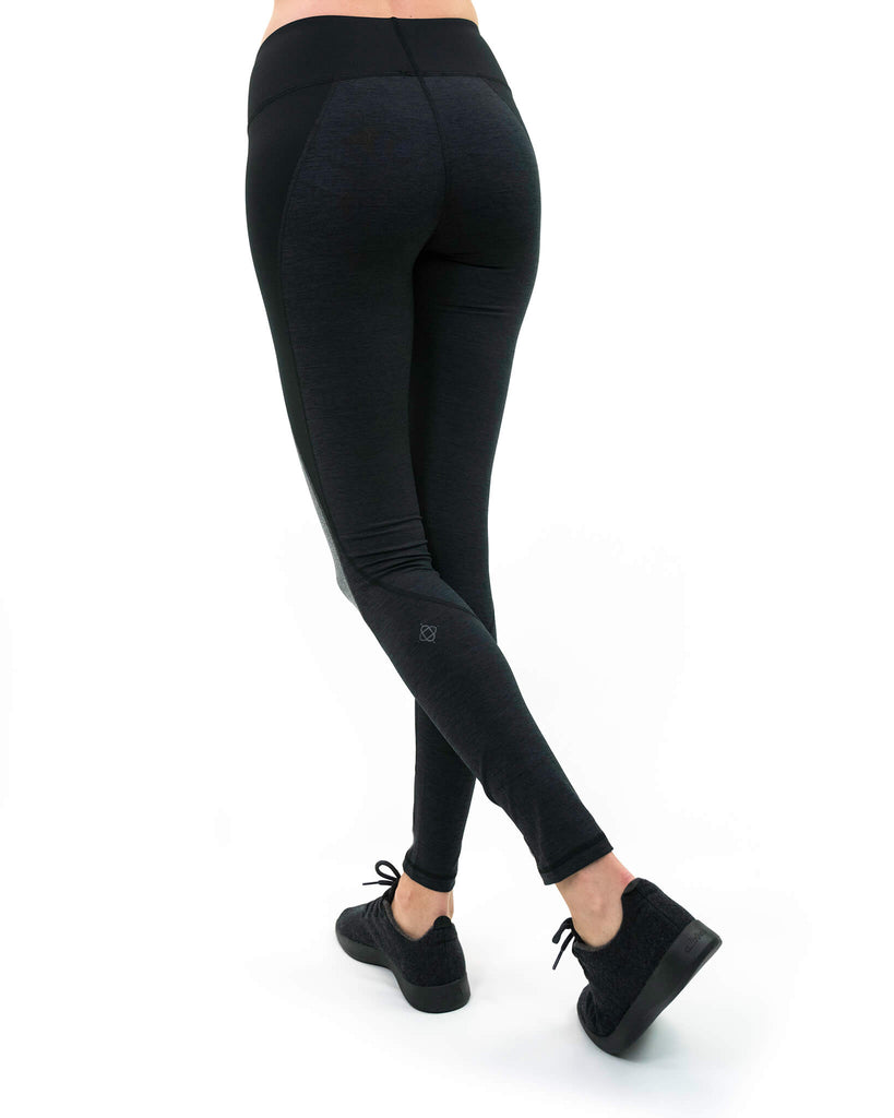 Rohi Legging in Black Heather
