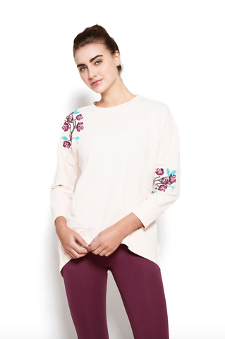 Sarana Sweatshirt in Blush
