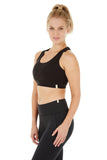 NANDA YOGA BRA SOLID BLACK