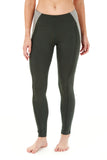 PYRITE HIGH WAIST LEGGING EMERALD