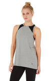 AVENTURINE TANK HEATHER GREY