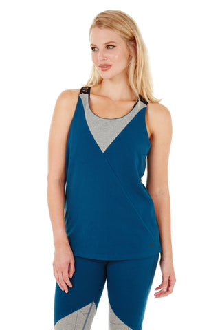 JASPER TANK SAILOR BLUE