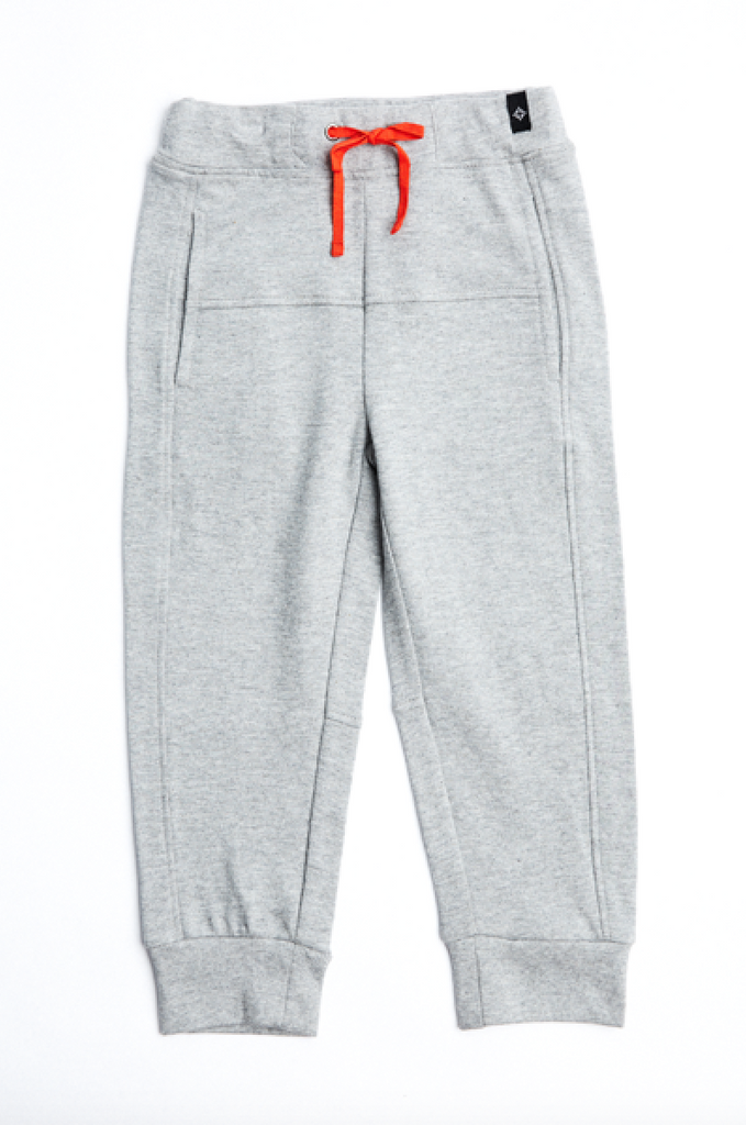Toddler Ringer Jogger in Grey