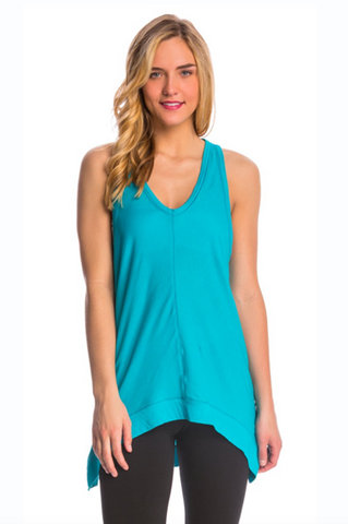 Salita A Line Tank Top In Bluebird