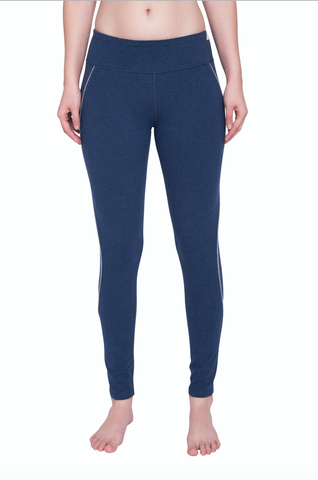 PREMA HIGHWAISTED LEGGING DARK BLUE HEATHER