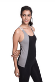 ARHAT FITTED CAMI BLACK
