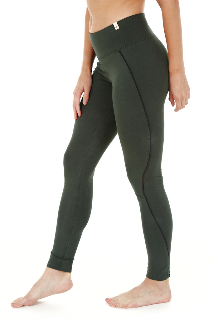 PREMA HIGH WAIST LEGGING EMERALD