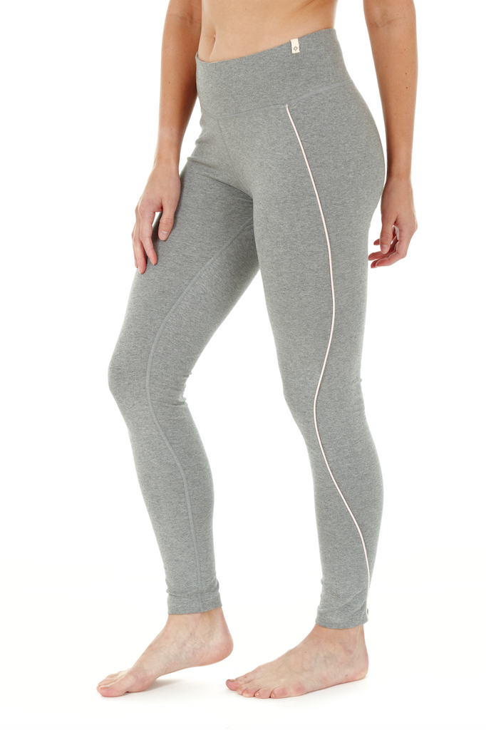PREMA HIGH WAIST LEGGING HEATHER GREY