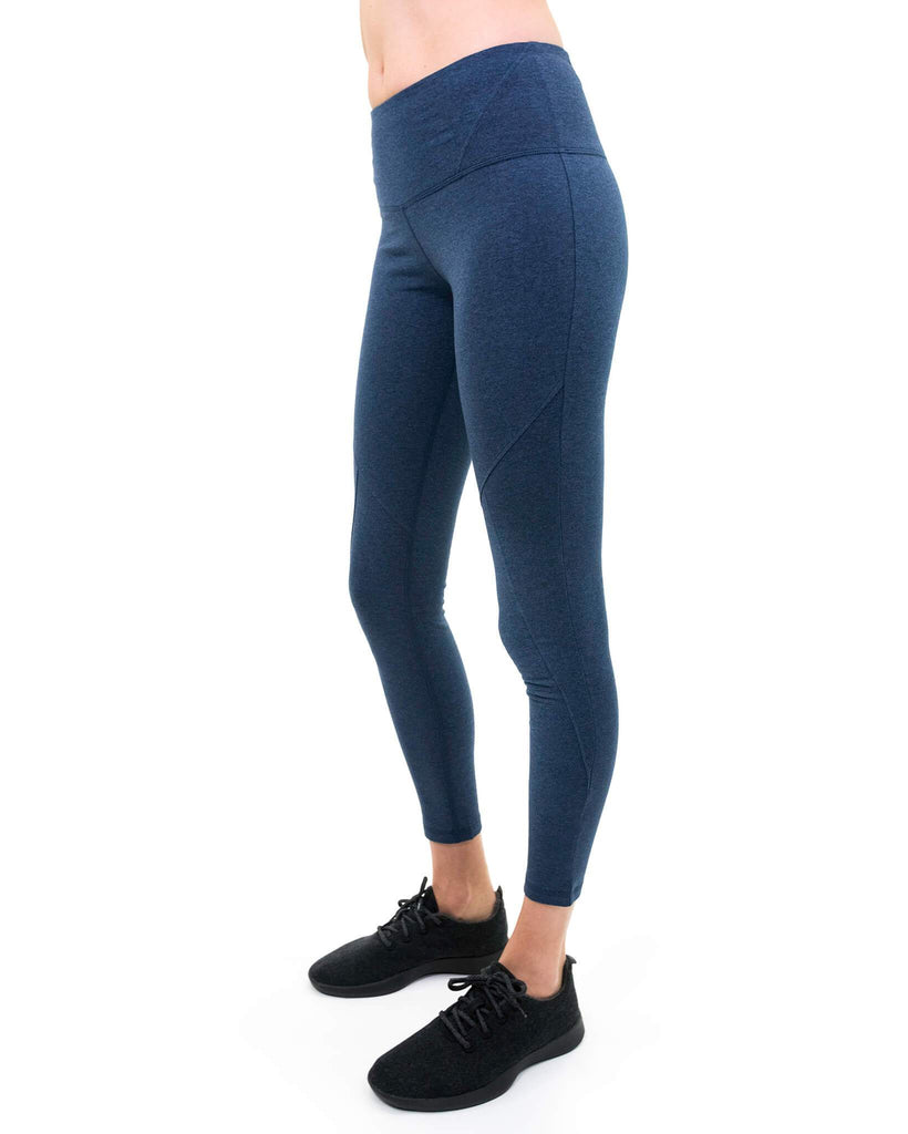 Tashi Legging in Blue Heather