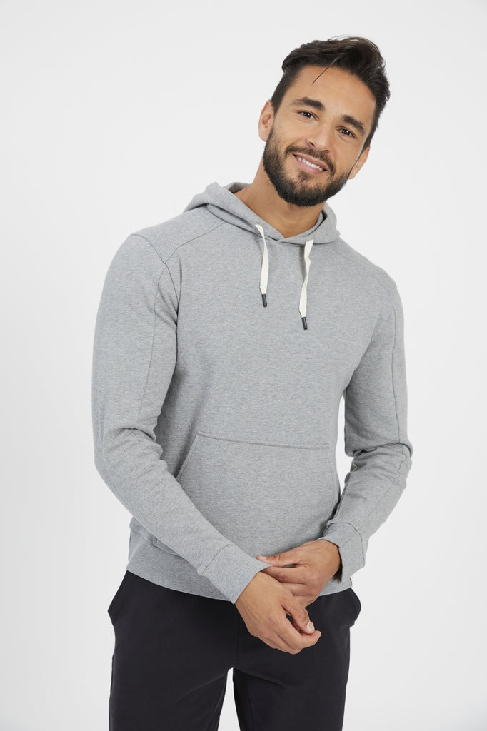 VEDA PULLOVER IN HEATHER GREY