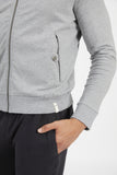 WARRIOR BOMBER JACKET HEATHER GREY