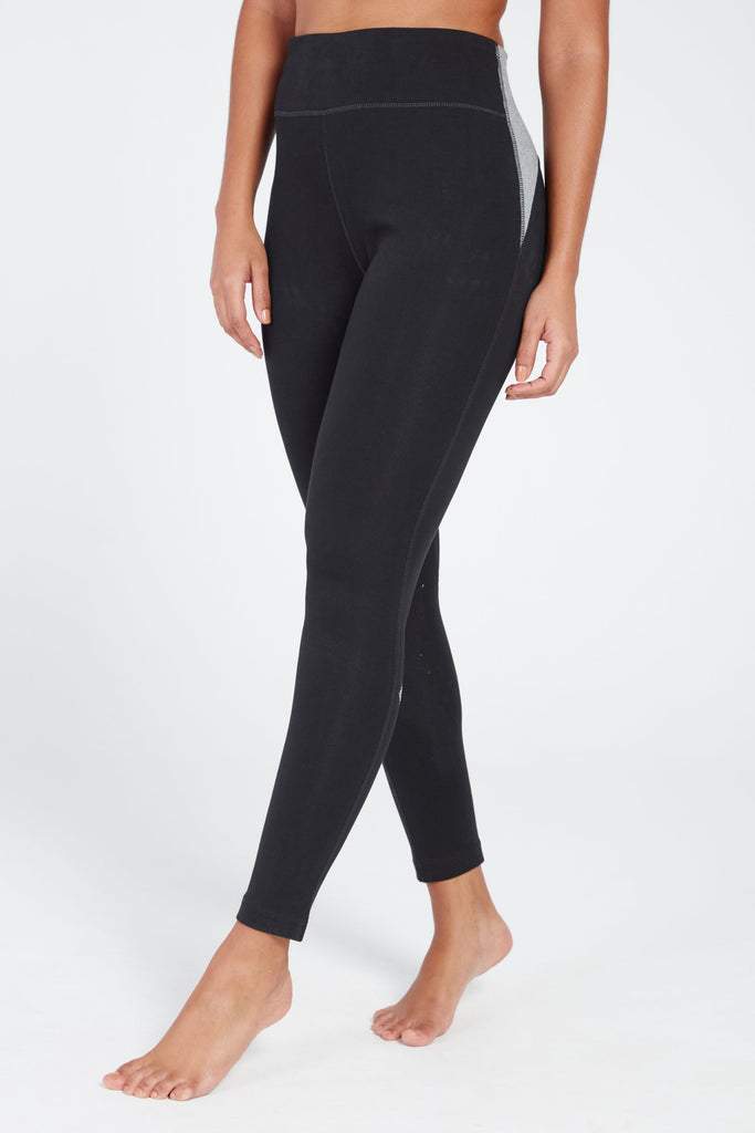 AURA HIGH RISE LEGGING IN BLACK