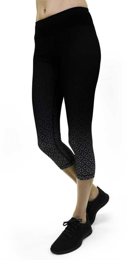 Dala Capri in Black Print