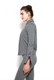 Viraya Jacket in Steel Heather
