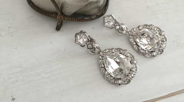 Out of My Jewelry Box – Marie Antoinette Replica Earrings