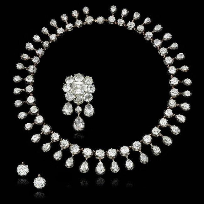 Marie Antoinette Diamond Necklace