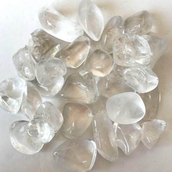 Polished Clear Quartz Gemstones