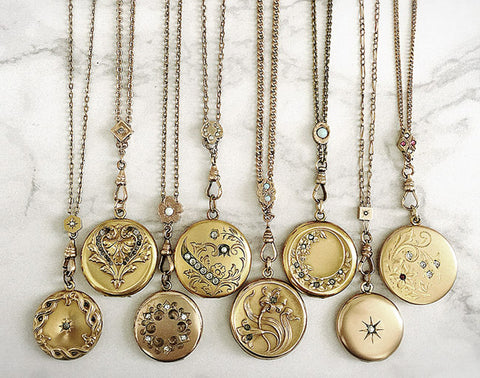 lockets and chains