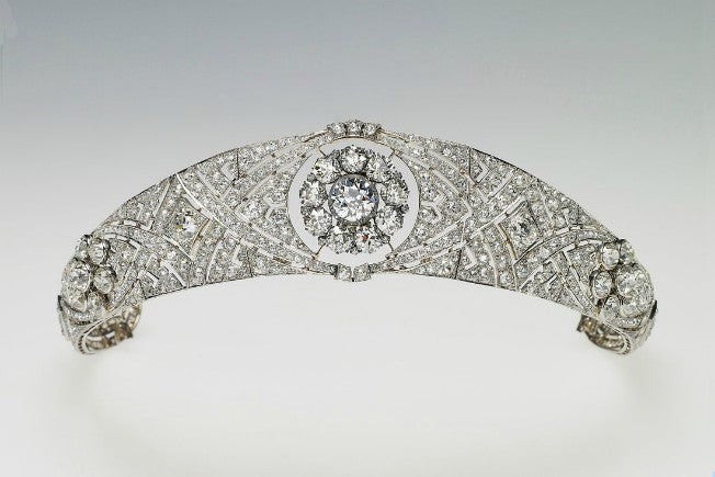 Queen Mary Filigree Tiara
