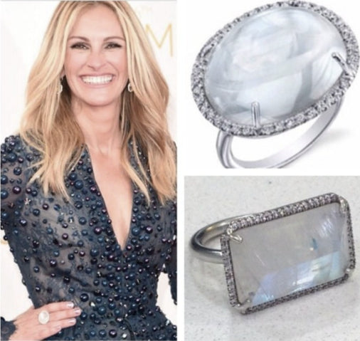 Red Carpet Antique Moonstone Jewelry