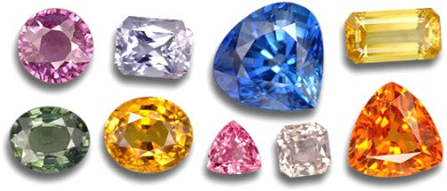fancy colored sapphire gemstones