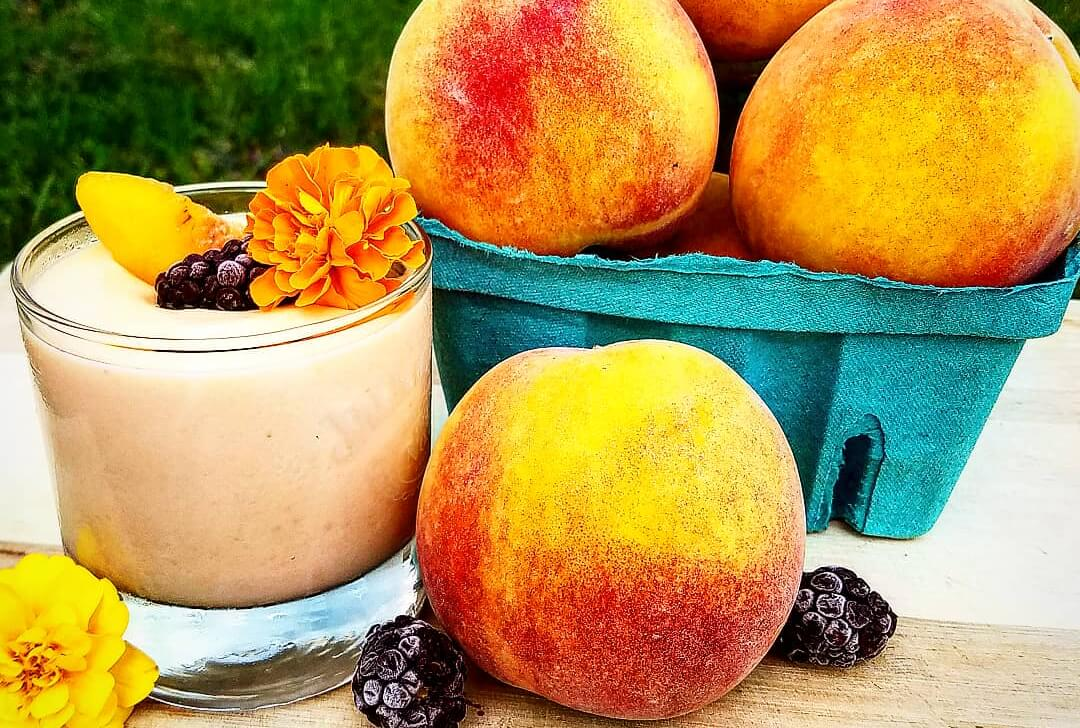 Peaches and Cream Smoothie