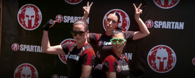 WATCH: Team Jenner Edges Kardashian Sisters in Malibu Beach Backyard Spartan Course