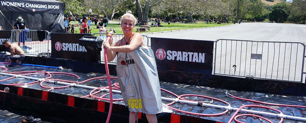 Everyday Spartan: How Kressa Peterson's Spartan Grit Helped Her Invent Shower Toga