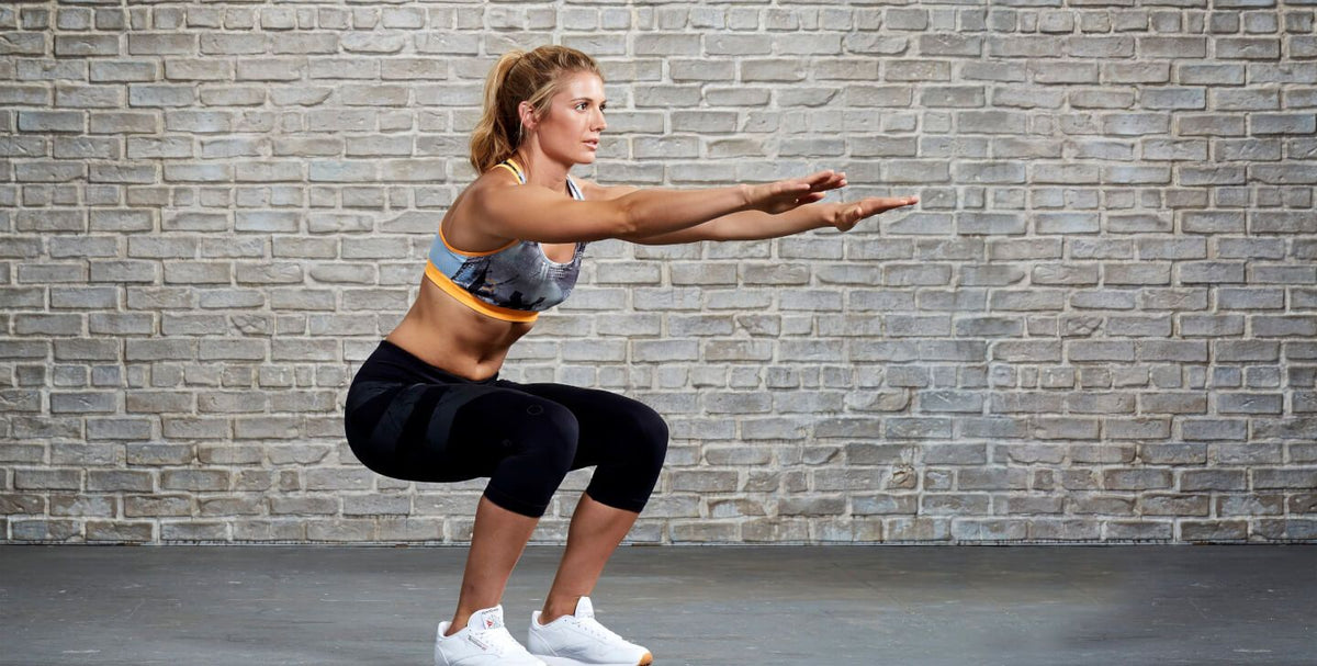 Bodyweight Squats: Workout of the Day Featured Exercise