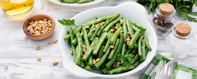 The Most Epic Side Dish EVER: Oven-Baked Crispy Green Beans