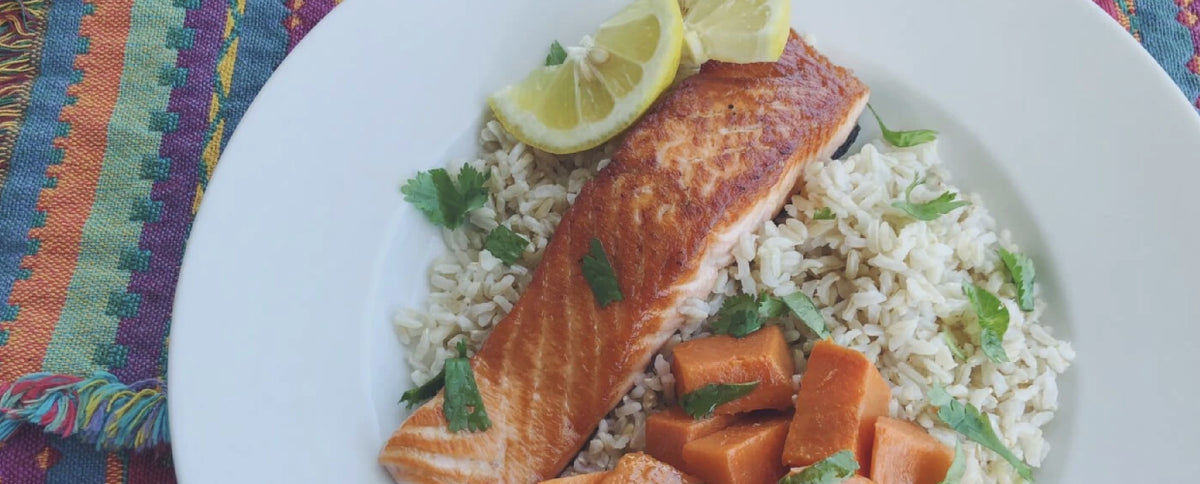 Lower Inflammation With This Salmon Dinner