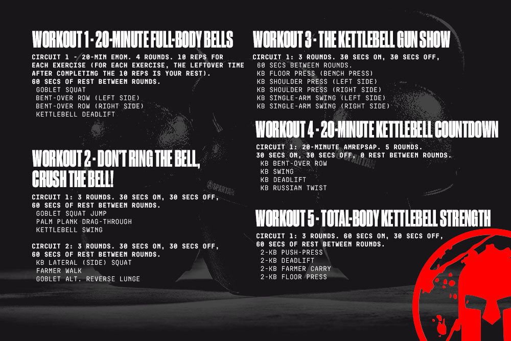 kettlebell workouts to build muscle