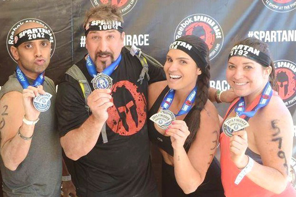 celebrities who have done spartan races
