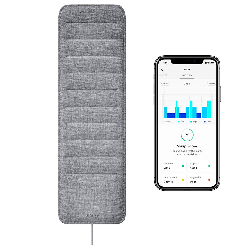 gadgets for better sleep sleep tracking pad