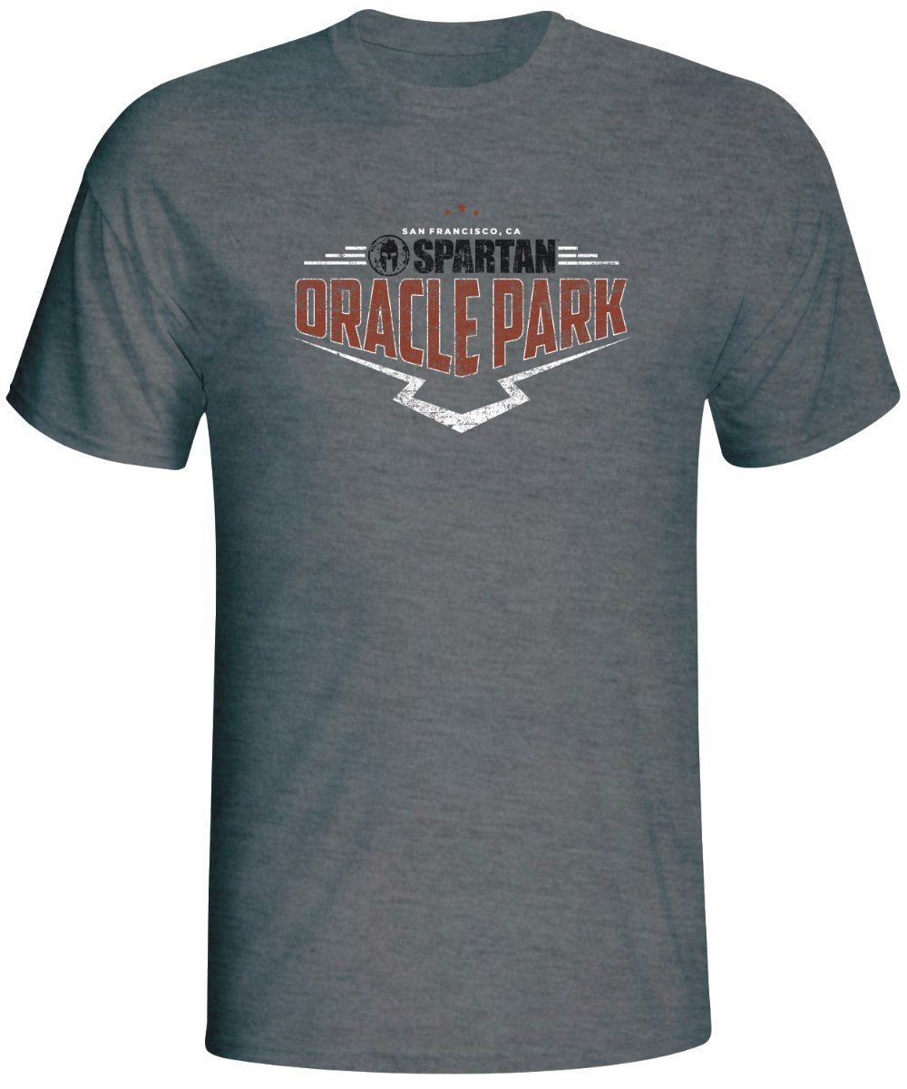 Spartan Race Shop SPARTAN 2019 Oracle Park Venue Tee - Unisex Gray XS
