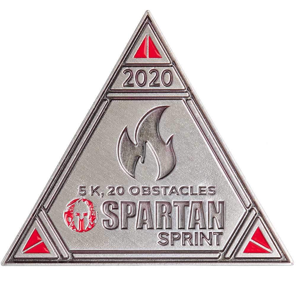 SPARTAN 2020 Sprint Delta Icon