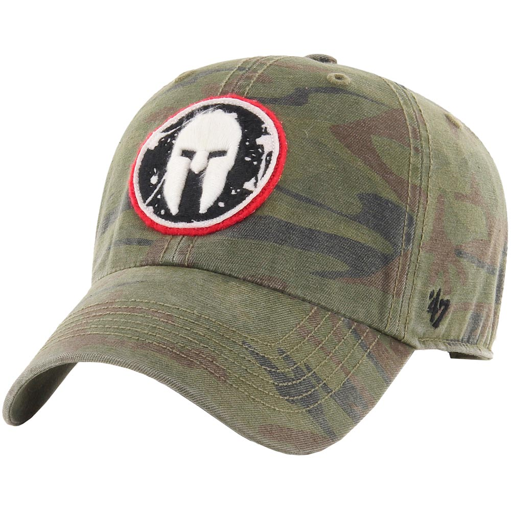 47 Brand SPARTAN '47 OHT Movement Clean Up Hat - Unisex Camo Green